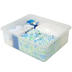 Foundations Storage Bins For Changing Tables & Diaper Organizers (Foundations FOU-9501196)