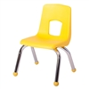 "Fuerza Preschool Chair with Chrome Legs 12"" Seat Height"