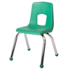 "Fuerza Preschool Chair with Chrome Legs 14"" Seat Height"
