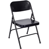 Fuerza Premium All Steel Folding Chair Ships Today -  w/ Double Ubrace