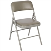 Fuerza Vinyl Padded Premium Metal Folding Chair