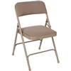 Fuerza Fabric Upholstered Premium Folding Chair