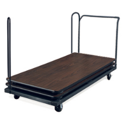 "Virco HTT6 - Table Truck for 72"" rectangular tables - stores 16 traditional or 12 Core-a-Gator Tables  (Virco HTT6)"