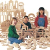 Jonti-Craft UNIT BLOCKS - INDIVIDUAL SET; 45 Pieces, 14 Shapes  (Jonti-Craft JON-0259JC)