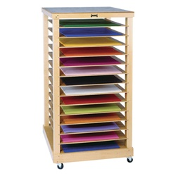 Jonti-craft Paper Rack with14 Shelves  (Jonti-Craft JON-0386JC)