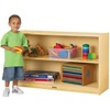 Jonti-craft Low Straight Shelf Mobile Unit  (Jonti-Craft JON-0393JC)