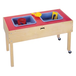 Jonti-Craft Sensory Sand and Water Table with Two Tubs-Toddler  (Jonti-Craft JON-0486JC)