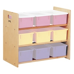 Jonti-Craft Plastic Tray Storage Rack with out Trays  (Jonti-Craft JON-0709JC)