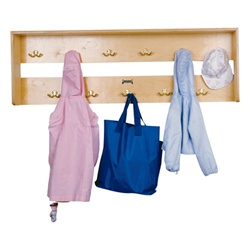 Jonti-Craft Wall Mount Coat Rack  (Jonti-Craft JON-0768JC)