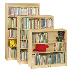 "Jonti-Craft Baltic Birch Bookcase 60""  (Jonti-Craft JON-0962JC)"