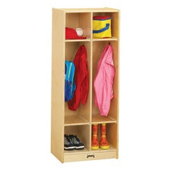 Jonti-Craft Double Locker Unit with out Step  (Jonti-Craft JON-2682JC)