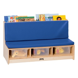 Jonti-Craft Literacy Couch - Blue  (Jonti-Craft JON-37460JC)