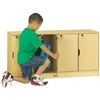 Jonti-Craft Baltic Birch Stackable Lockers - Single Stack  (Jonti-Craft JON-4688JC)