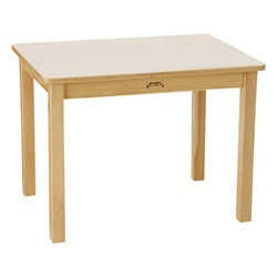 "Jonti-Craft 5/8"" Rectangle Baltic Birch Activity Table - Maple Top  (Jonti-Craft JON-566)"