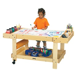 "Jonti-Craft Creative Caddie Art Table with out Bins 54""  (Jonti-Craft JON-58506JC)"