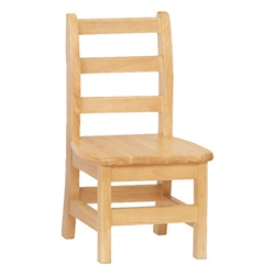 "Jonti-Craft Ladder Back Chairs - Set of Two 10""  (Jonti-Craft JON-5910JC2)"