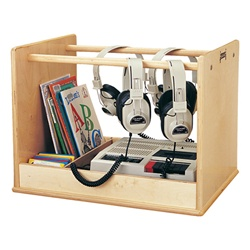 Jonti-Craft Audio Caddy Portable Listening Center  (Jonti-Craft JON-6748JC)