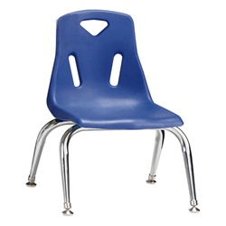 "Jonti-Craft Stackable School Chair with Chrome Legs 10"" Seat Height  (Jonti-Craft JON-8140JC)"