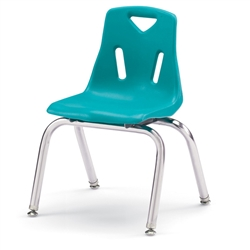 "Jonti-Craft Stackable School Chair with Chrome Legs 14"" Seat Height  (Jonti-Craft JON-8144JC)"