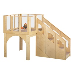 Jonti-Craft Toddler Play Loft - Ages 2 to 3  (Jonti-Craft JON-9752JC)