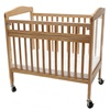 L.A. Baby Arched Wooden Window Crib with Safety Gate - LAB 530, LBB 530