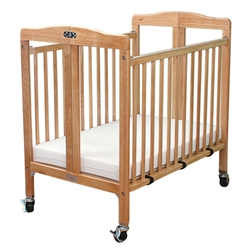 L.A. Baby Wood Folding Window Crib  (L.A. Baby LAB-583)