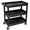 "Luxor E Series EC111 - Tub Cart 3 shelves -  35¼""W x 36¼""H (Luxor LUX-EC111)"