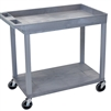 Luxor 18 x 32 Cart 1 Tub / 1 Flat Shelves (LUX-EC12-G)