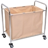Luxor Laundry Cart With Steel Frame & Canvas (Luxor LUX-HL14)