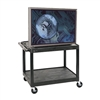 Luxor Adjustable Presentation Cart (Luxor LUX-LP27E-B)