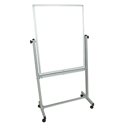 "LUX MB3040WW Double Sided Magnetic White Board 30"" x 40"" (Luxor LUX-MB3040WW)"