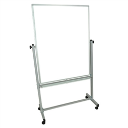 "LUX MB3648WW Double Sided Magnetic White Board 36"" x 48"" (Luxor LUX-MB3648WW)"