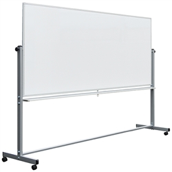 "Luxor MB9640WW - 96"" x 40"" Double-Sided Reversible Magnetic Whiteboard(LUX-MB9640WW)"