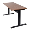 "Luxor SPN48F-BK-TK - 48"" Pneumatic Adjustable Height Standing Desk (LUX-SPN48F-BK-TK)"