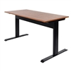 "Luxor SPN56F-BK-TK - 56"" Pneumatic Adjustable Height Standing Desk (LUX-SPN56F-BK-TK)"