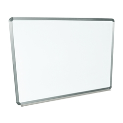 "Luxor WB4836W - Wall-mounted Whiteboard 48""W x 36""H (LUX-WB4836W)"