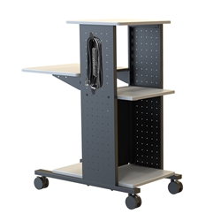 "H. Wilson WPS4E - 40"" Mobile Presentation Station with Electric(H. Wilson LUX-WPS4E)"