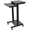 Luxor Mobile Adj Height Presentations Workstation <br> (Lux-PS3945)