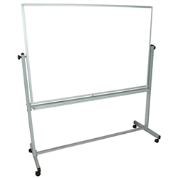 "Luxor MB6040WW - 60"" x 40"" Double-Sided Magnetic Whiteboard(Similar to MAR-RA45CK2K2)"
