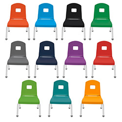 "Mahar Creative Colors Mix and Match Chair 10"" Seat Height  (Mahar MHR-10CHR)"