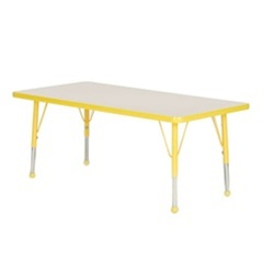 "Mahar Small Rectangle Creative Colors Activity Table (24"" x 36"")  (Mahar MHR-2436)"