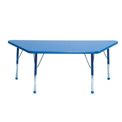 "Mahar Large Trapezoid Creative Colors Activity Table (30"" x 60"")  (Mahar MHR-3060T)"