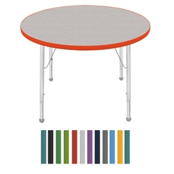 "Mahar Large Round Creative Colors Activity Table (36"" Diameter)  (Mahar MHR-36RN)"