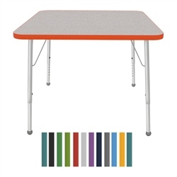 "Mahar Large Square Creative Colors Activity Tables (36"" x 36"")  (Mahar MHR- 36SQ)"