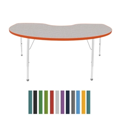 "Mahar Kidney Creative Colors Activity Table (48"" x 72"")  (Mahar MHR-4872K)"