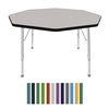 Mahar Octagon Creative Colors Activity Table  (Mahar MHR-48OC)