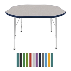 "Mahar Shamrock Creative Colors Activity Table (48"" Diameter)  (Mahar MHR-48SR)"