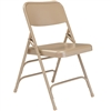 NPS Premium All Triple Brace Double Hinge Steel Folding Chair  (National Public Seating NPS-300)