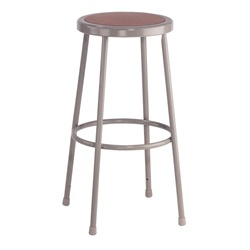 "NPS 30""H Stool with Hardboard Seat  (National Public Seating NPS-6230)"