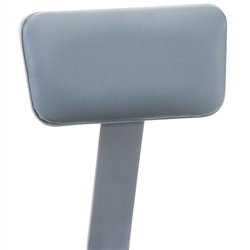 NPS Padded Vinyl Backrest for 6400 Series Stools	 (National Public Seating NPS-6400)